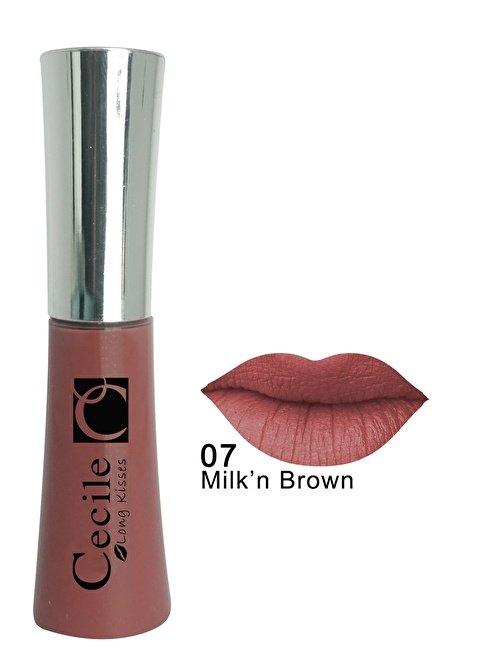 Cecile Long Kisses Lipgloss  07 Renkli